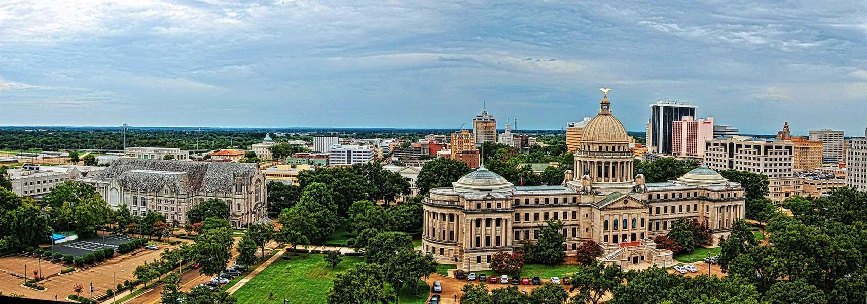 Jackson-Mississippi-Panorama